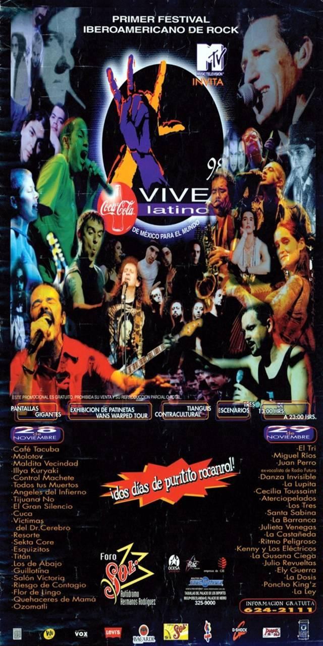 Vive Latino 98