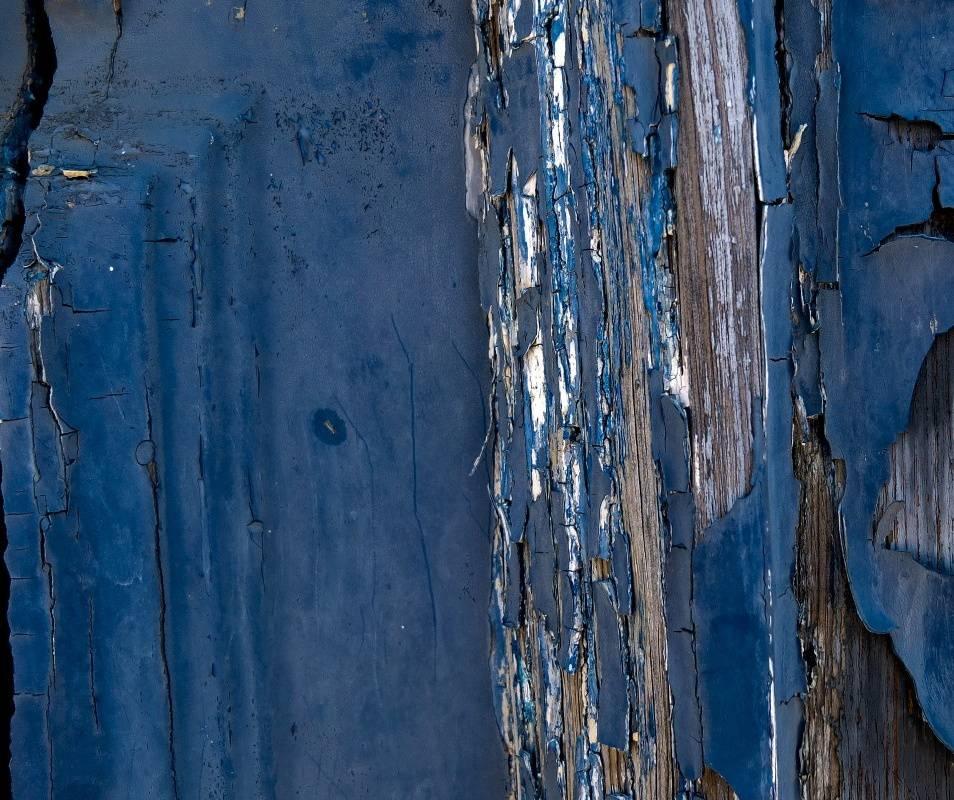 Blue Old Wood