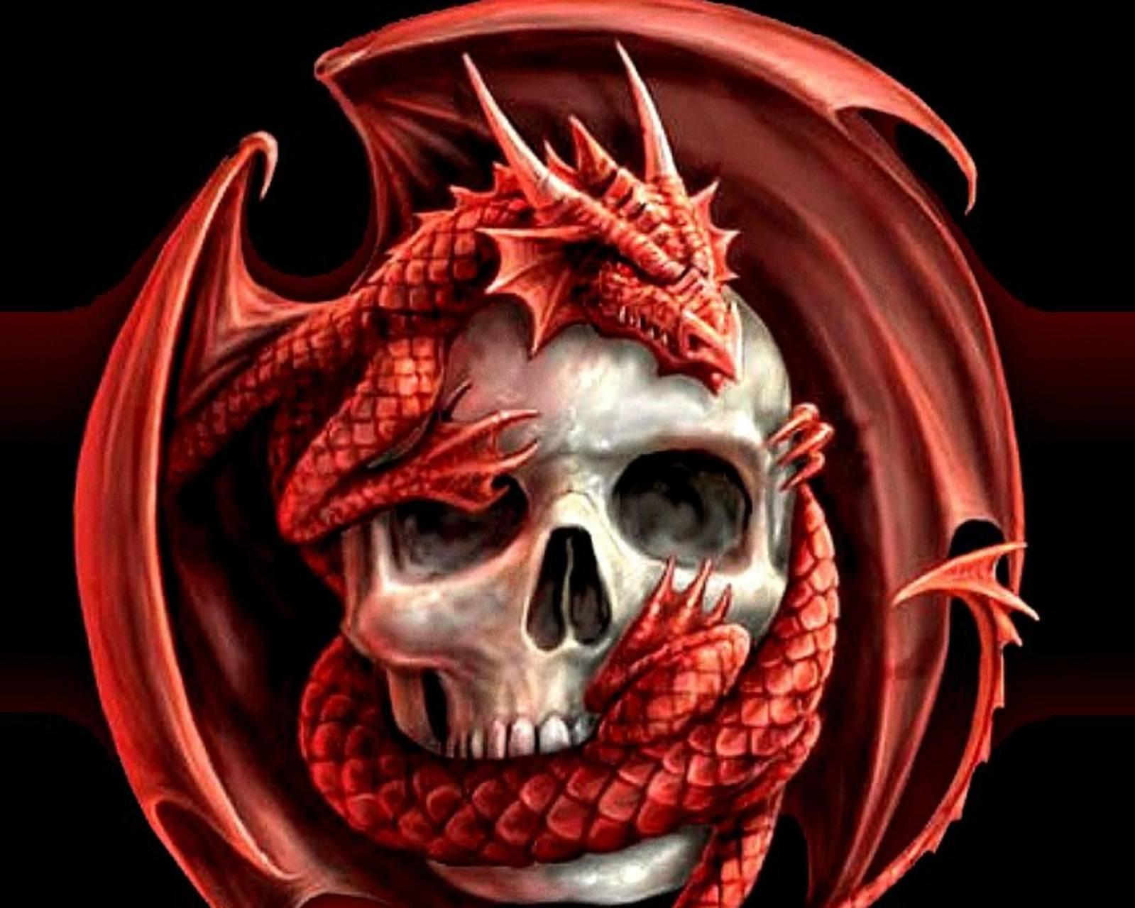 Red Skull Dragon