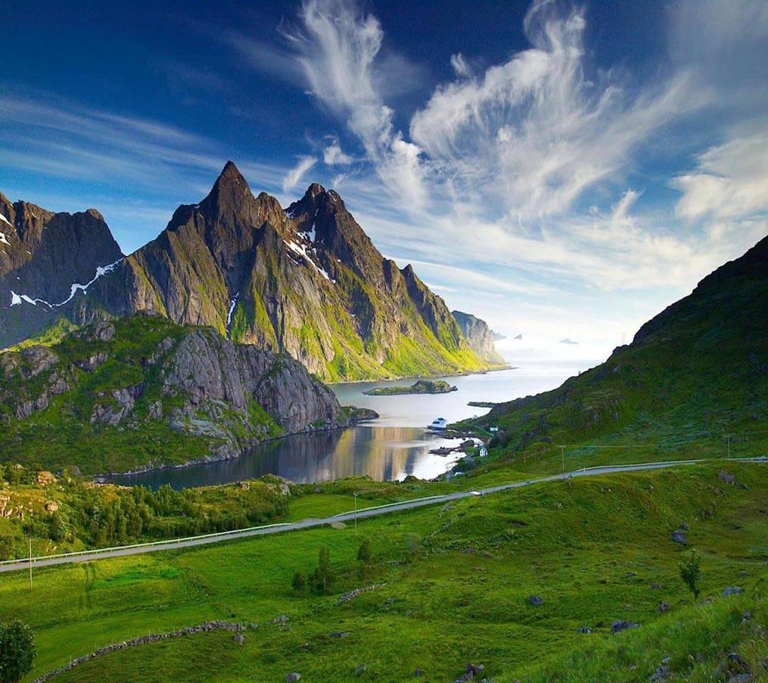 Mountain Lake nature
