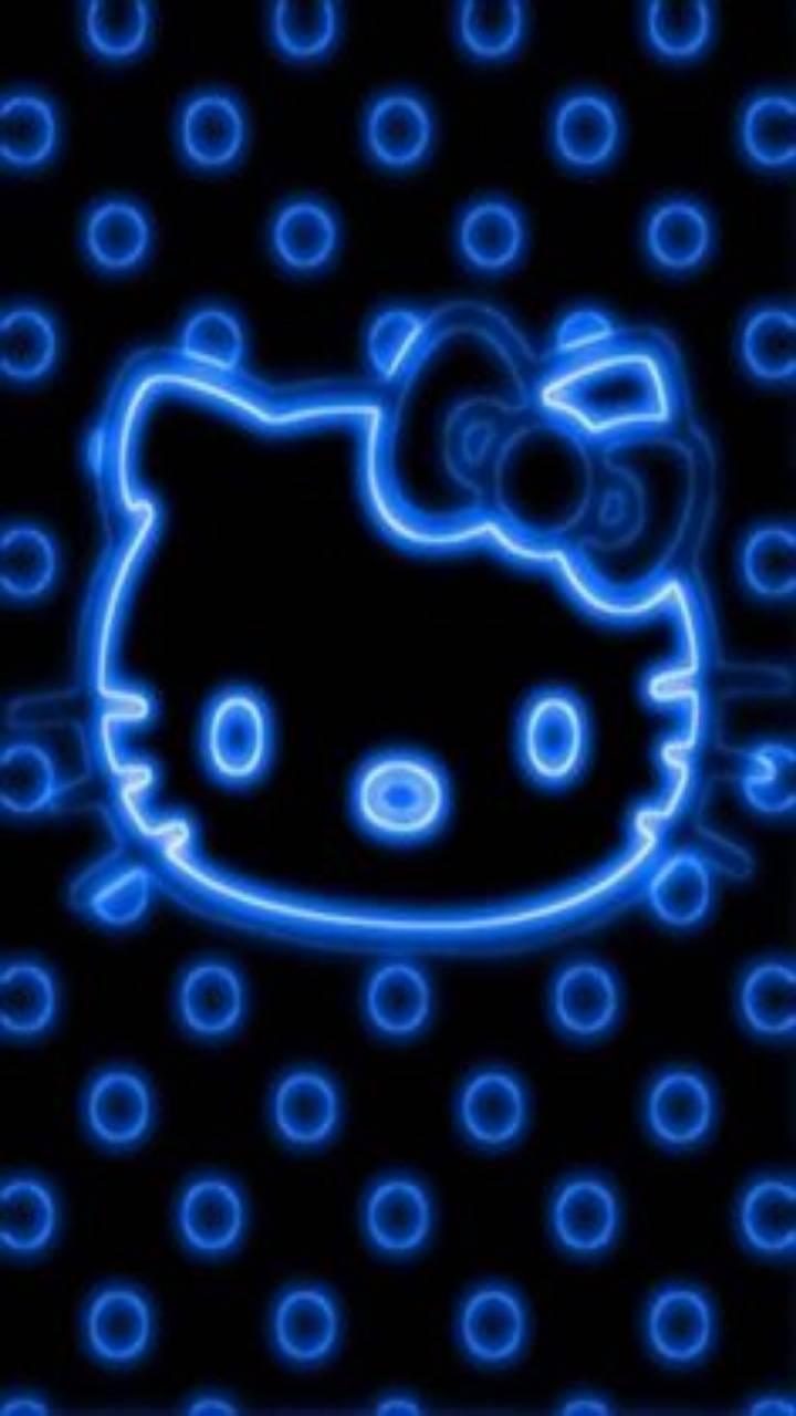 hello kitti neon