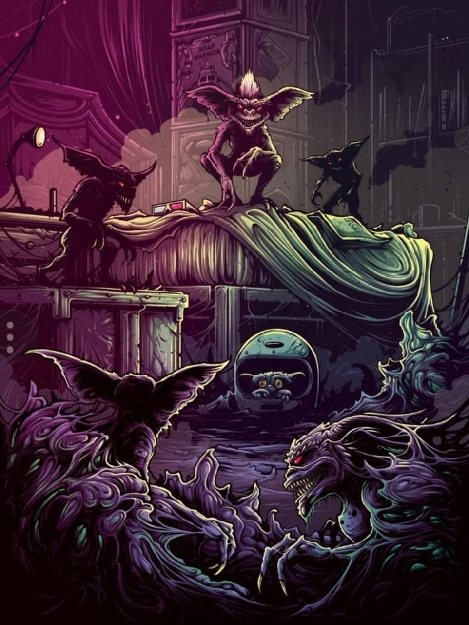 Horror Gremlins Mov