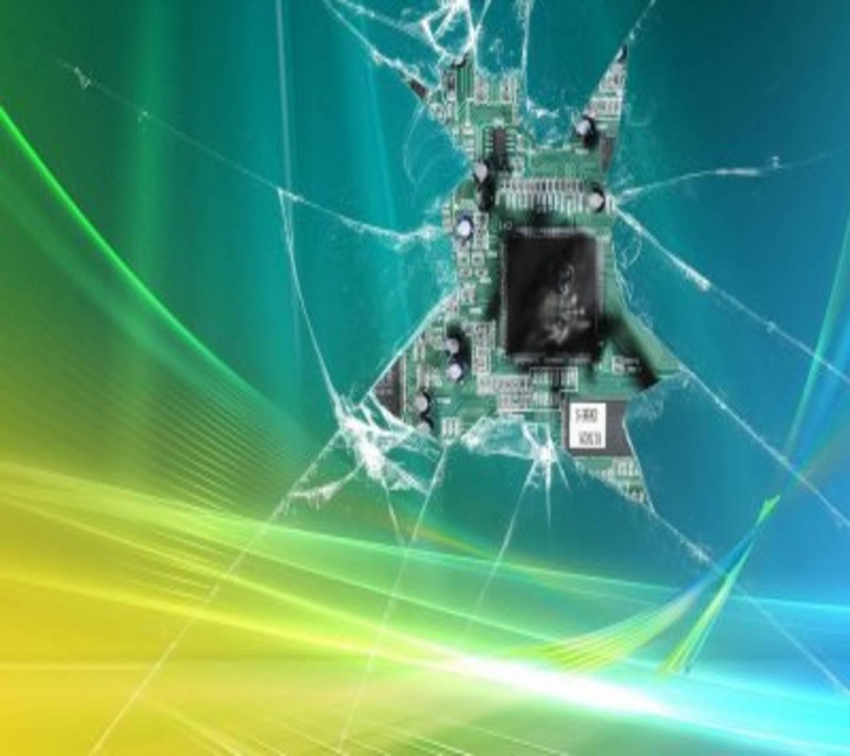 Circuit Chip Crack