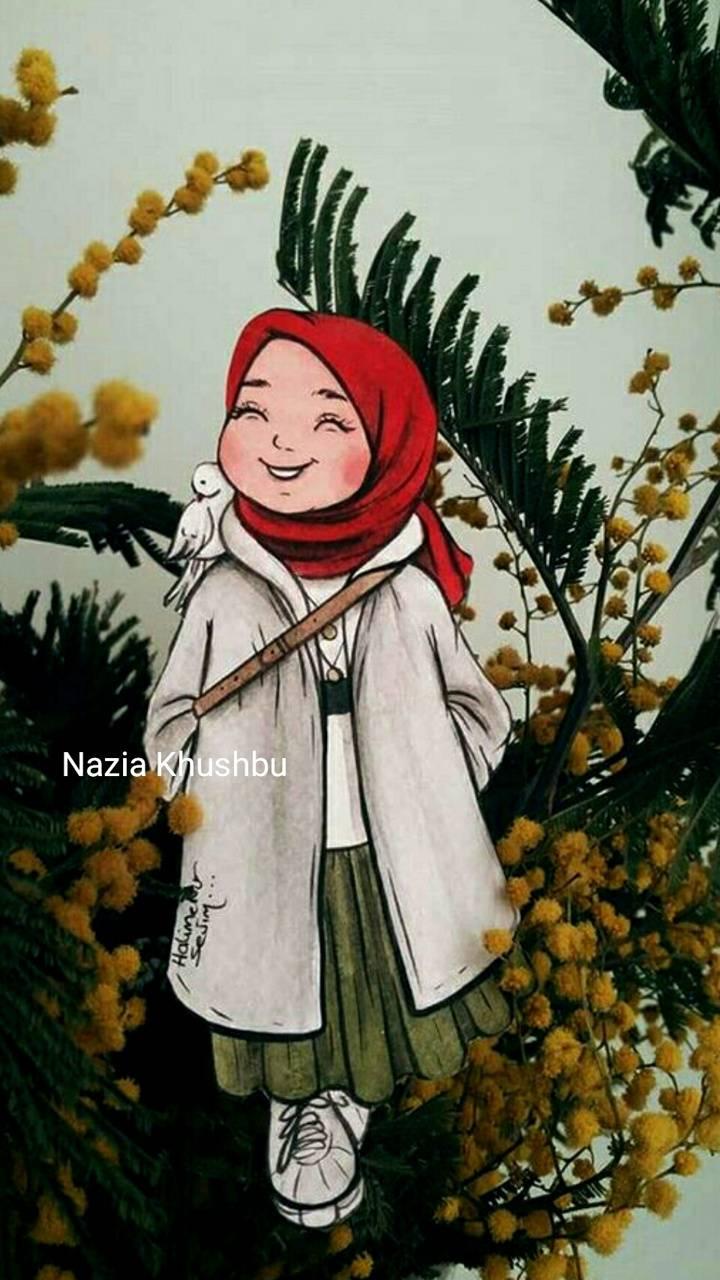 cute hijAb girl
