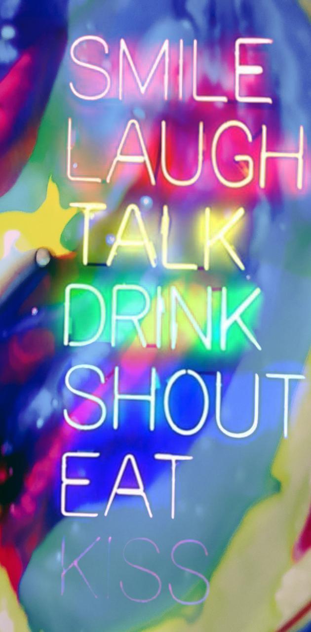Neon shout