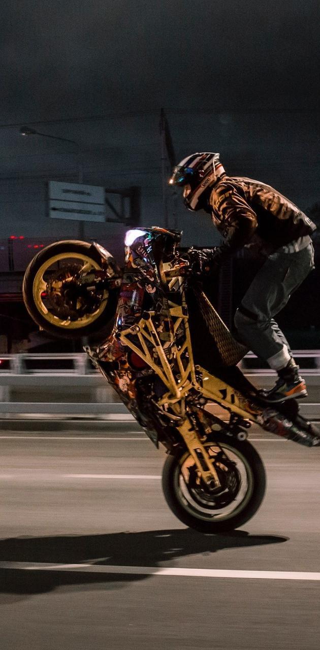 Biker Wheelie