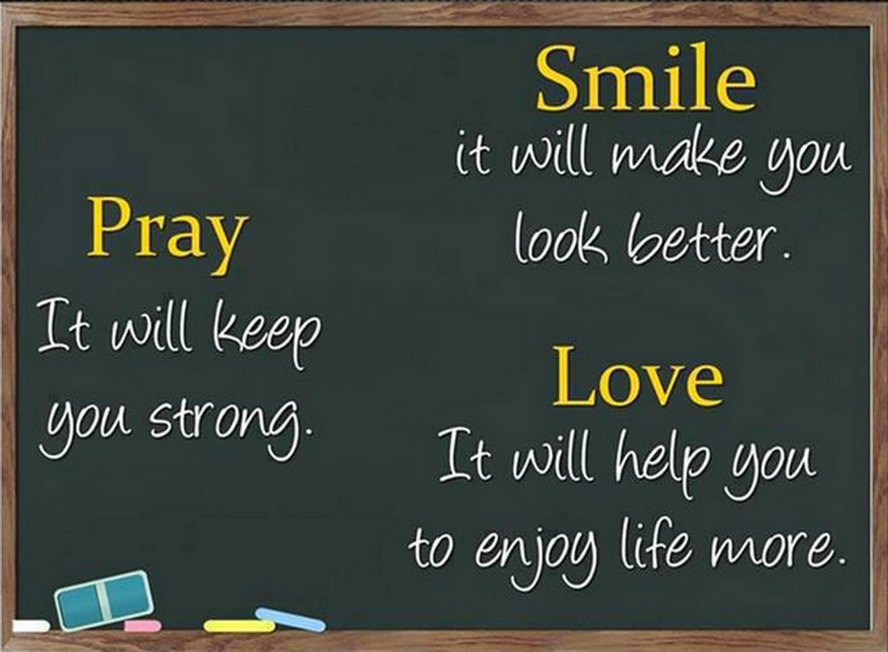 Love Smile Pray
