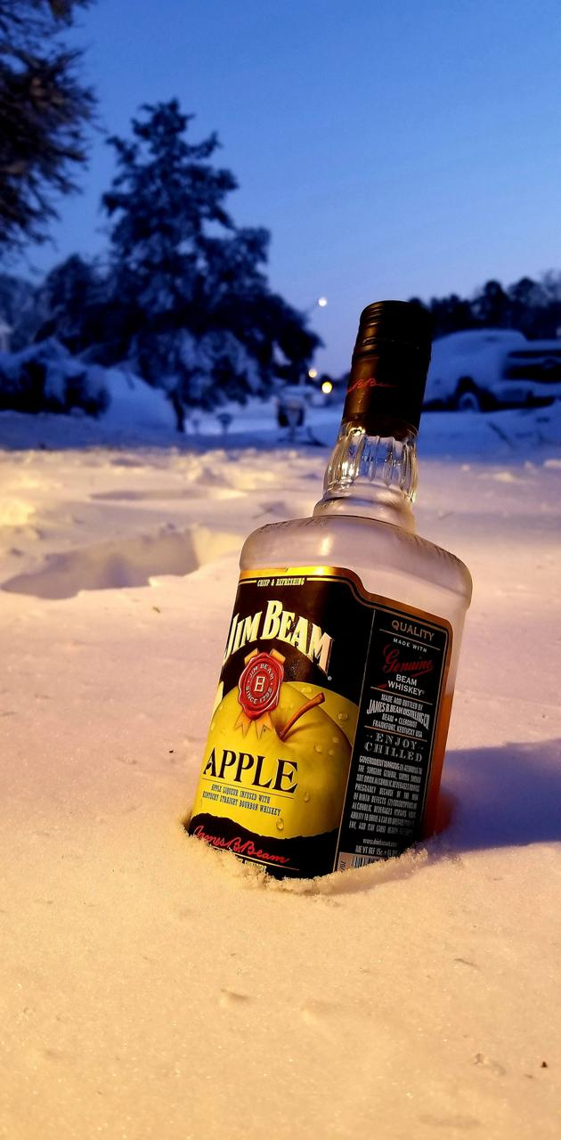 Jim on snow