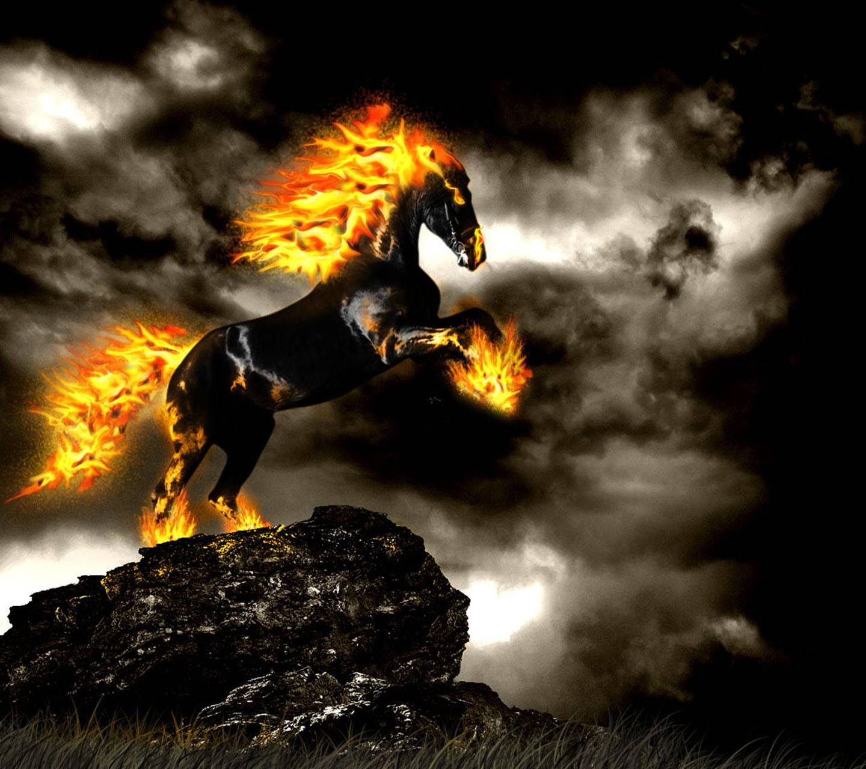 Fire Horse wallpaper by _Savanna_ - 27 - Free on ZEDGE™