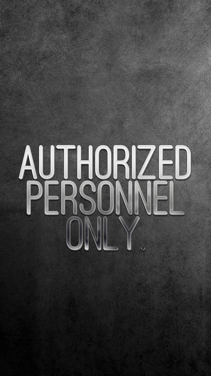 authorized only