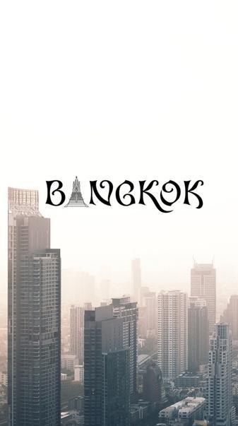 Bangkok lock screen