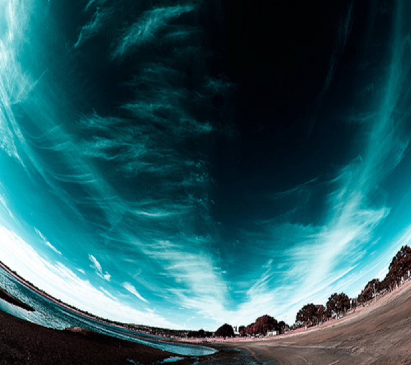 Abstract Blue Sky