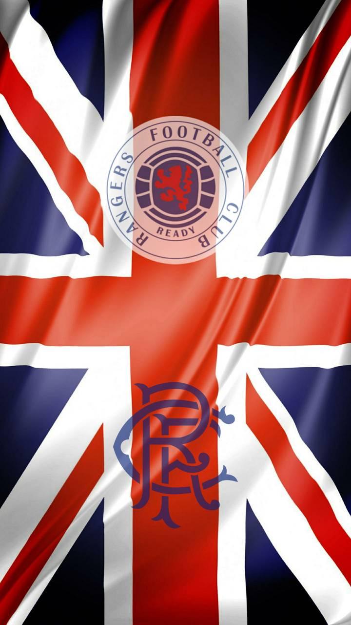 Rangers fc flag