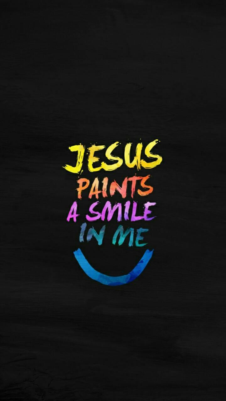 Jesus Paints a smile