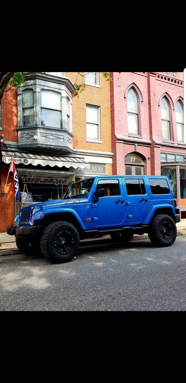 Jeep downtown