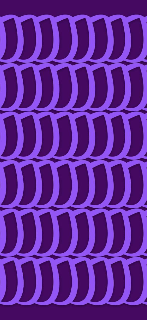Lilly Pattern Purple
