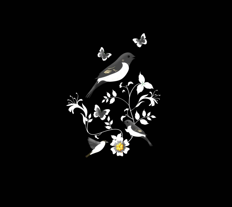Birds butterfly 1