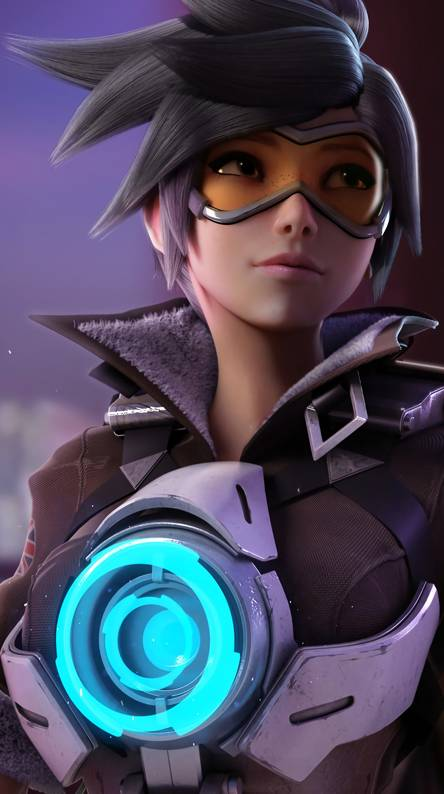 Overwatch Tracer Wallpapers Free By Zedge