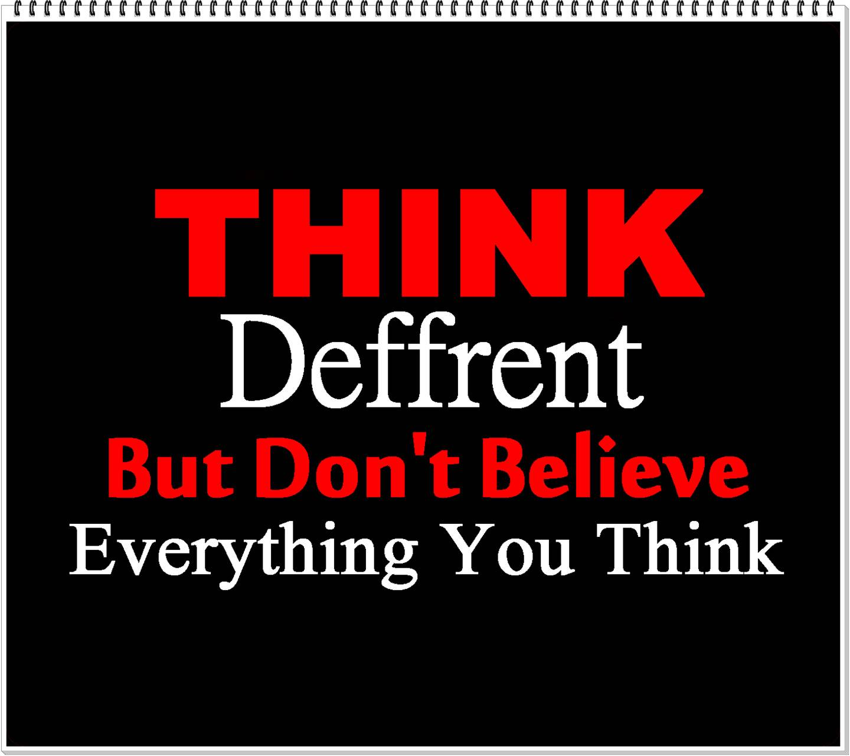 Think Deffrent