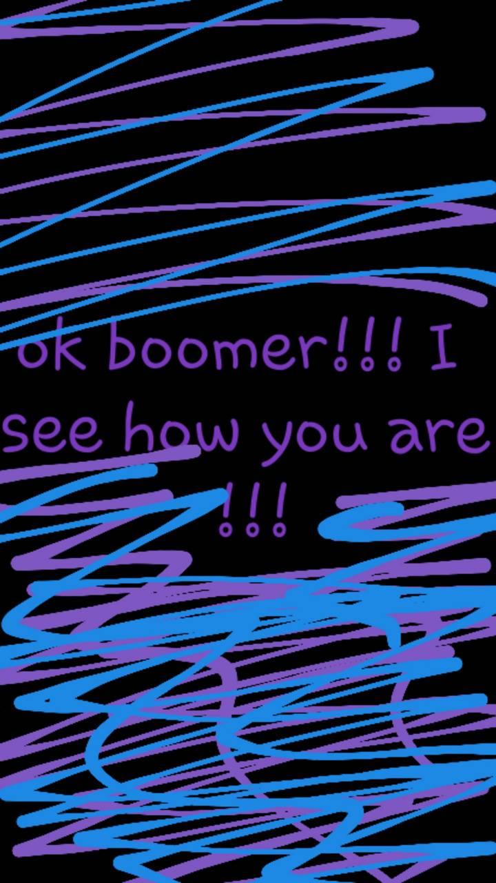 OK boomer wallpaper2
