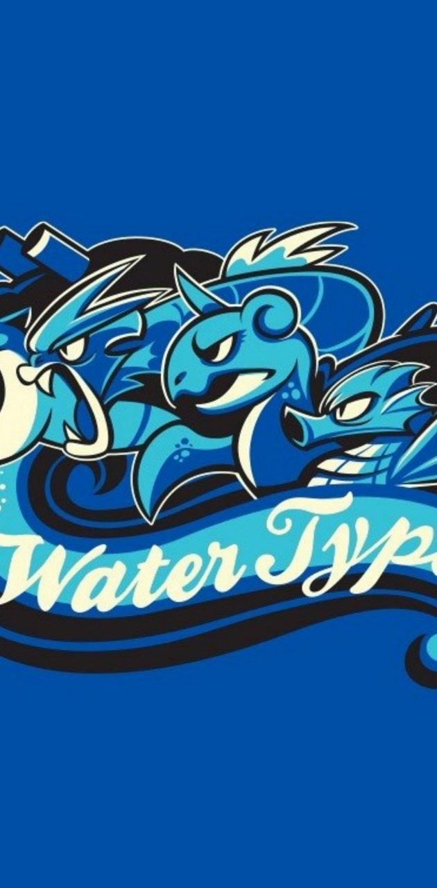 Water types pokemon