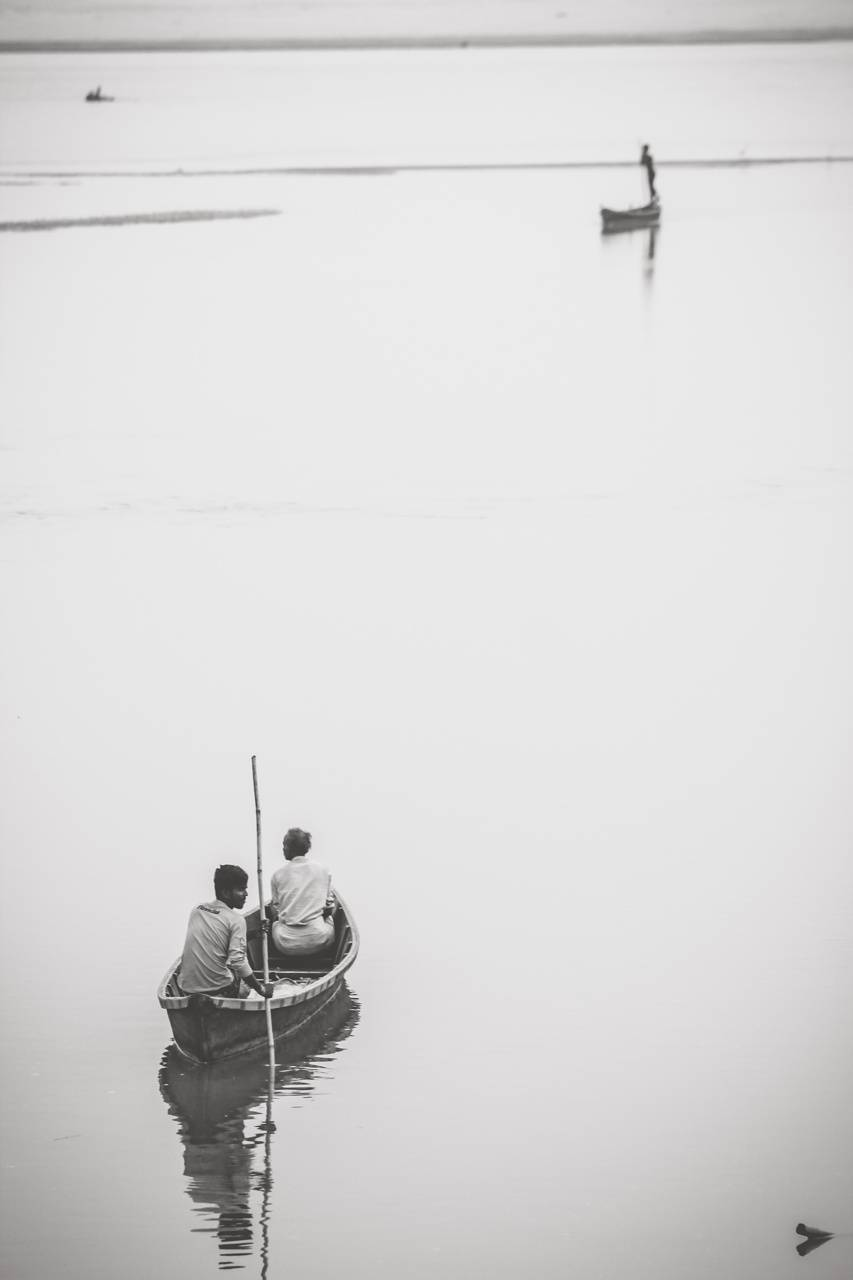 Fishing on my boat