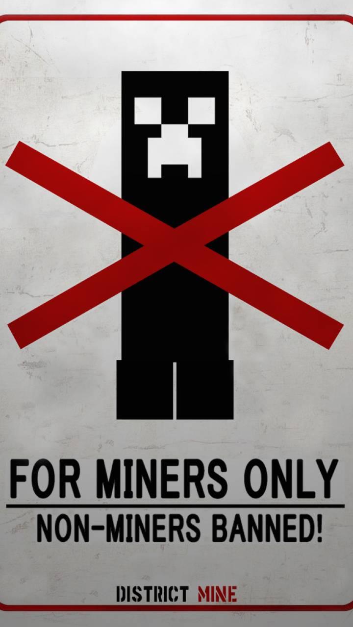 Minecraft warning