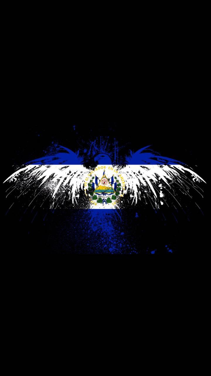 Salvadoran Flag