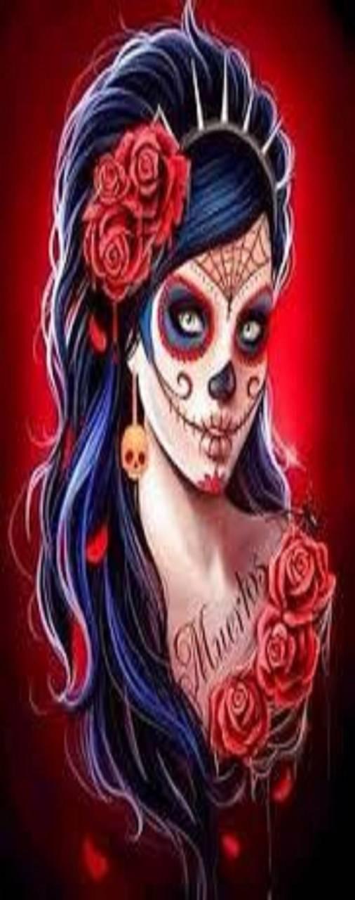 Sugar Skull Roses Wallpaper By Whiskylover98 90 Free On