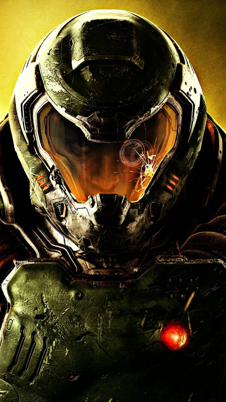 Doom Slayer Face Wallpaper By Assalin 79 Free On Zedge