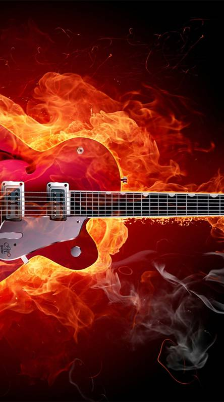 Fire Guitar Hd