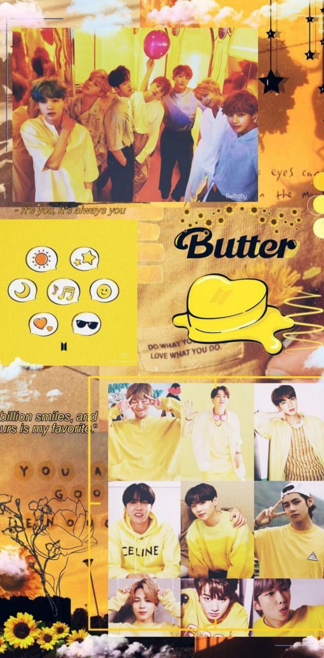 Butter wallpaper