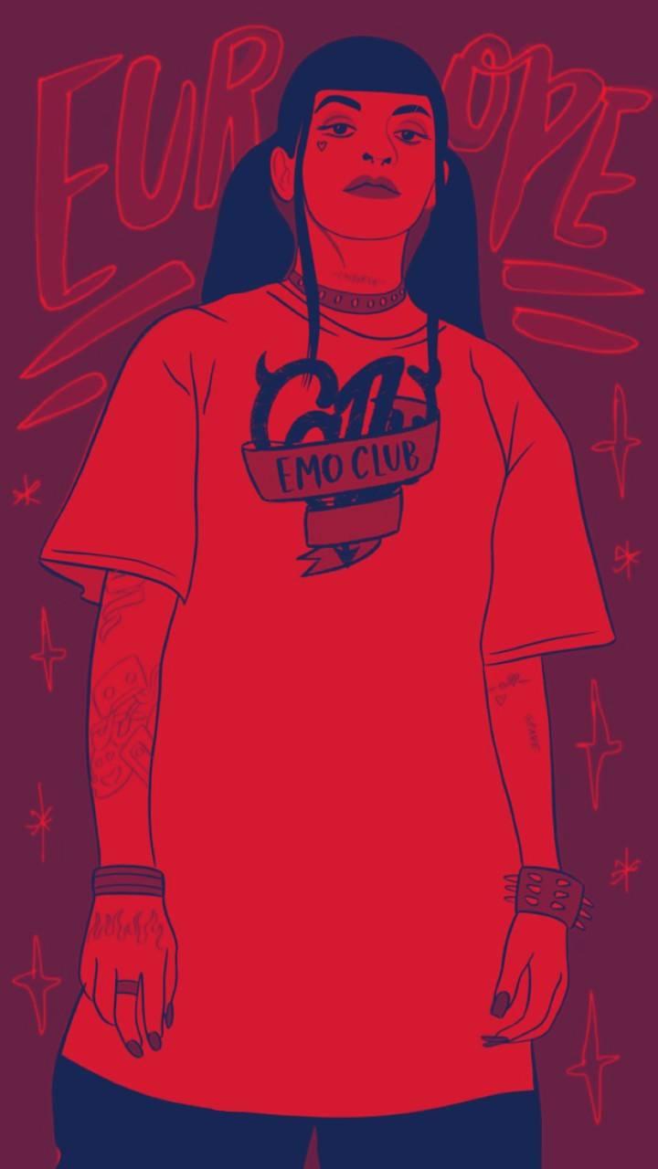 Cazzu red