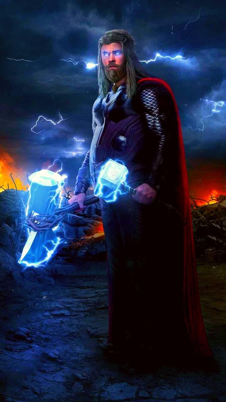 Thor Neon Lightning Wallpaper By Simbuilder79 09 Free On