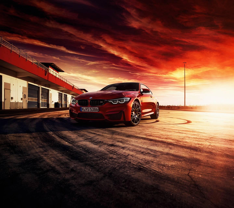 Red BMW M4