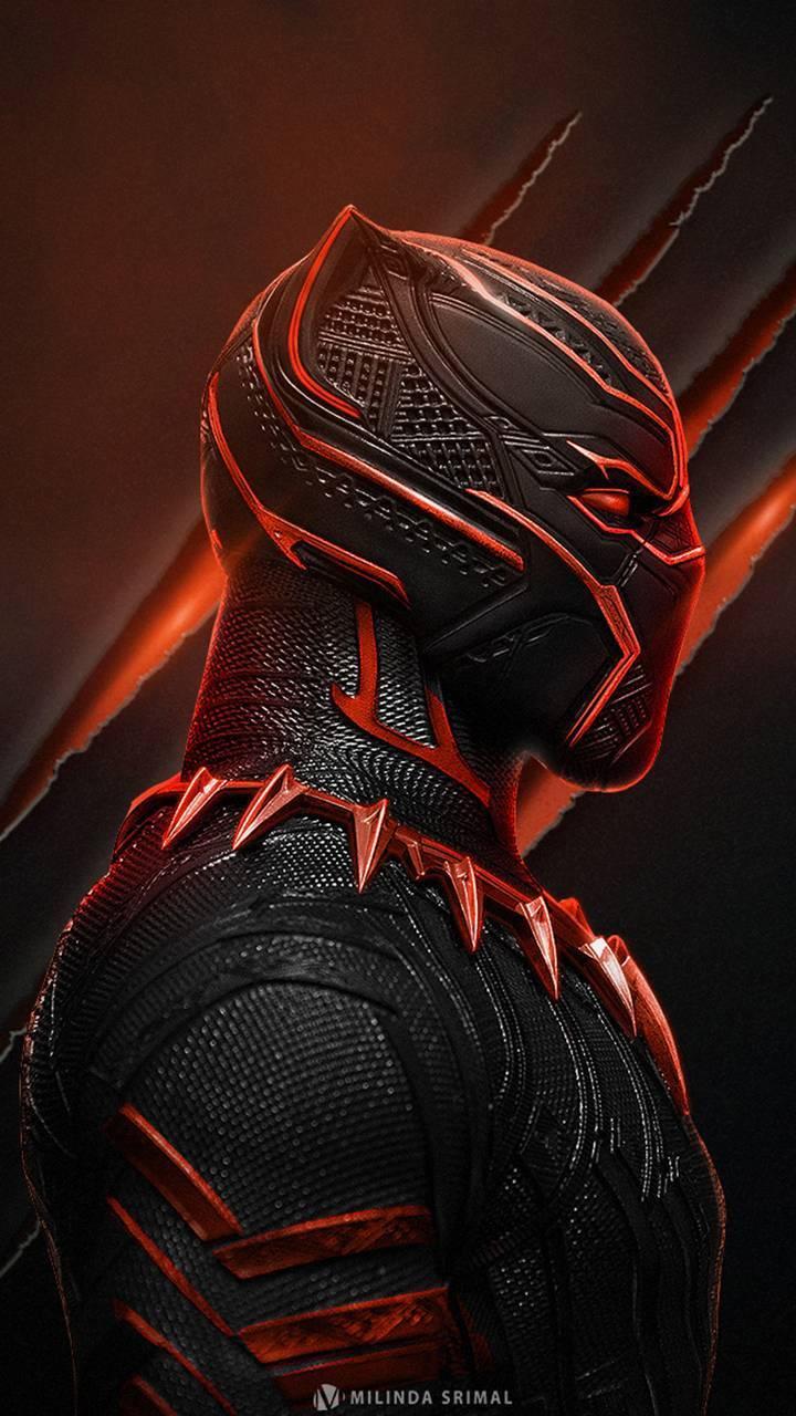 Black panther Red