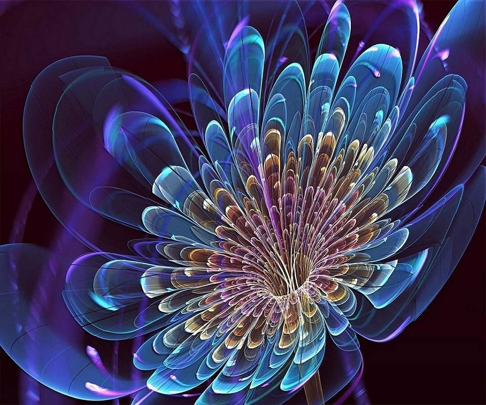 Flower-abstract-v752