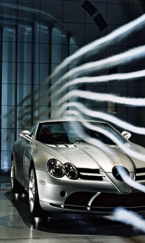 Mercedes Wind Test