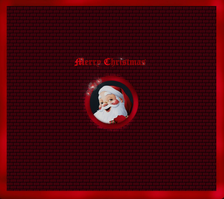 Brickwall Santa
