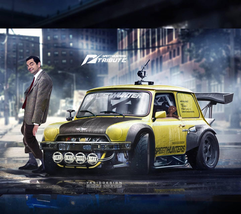 Johnny Speed Race Car
