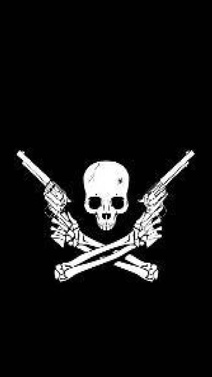 Skull Guns Wallpaper By Magicman20 Ad Free On Zedge