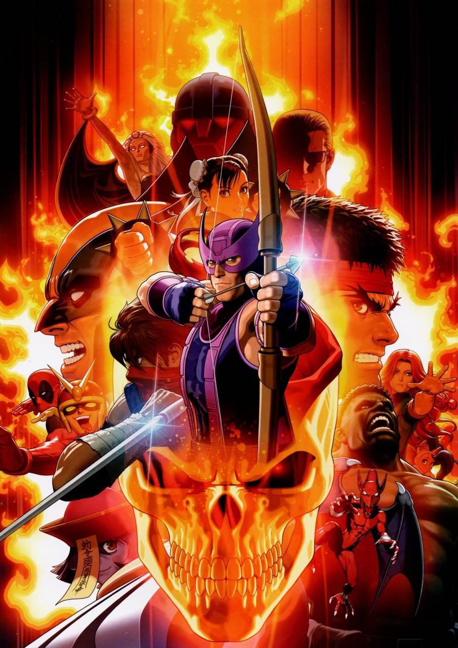U Marvel Vs Capcom 3 Wallpaper By Gabe98 0a Free On Zedge