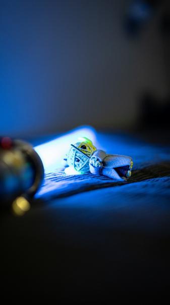 Yoda toy lightsaber