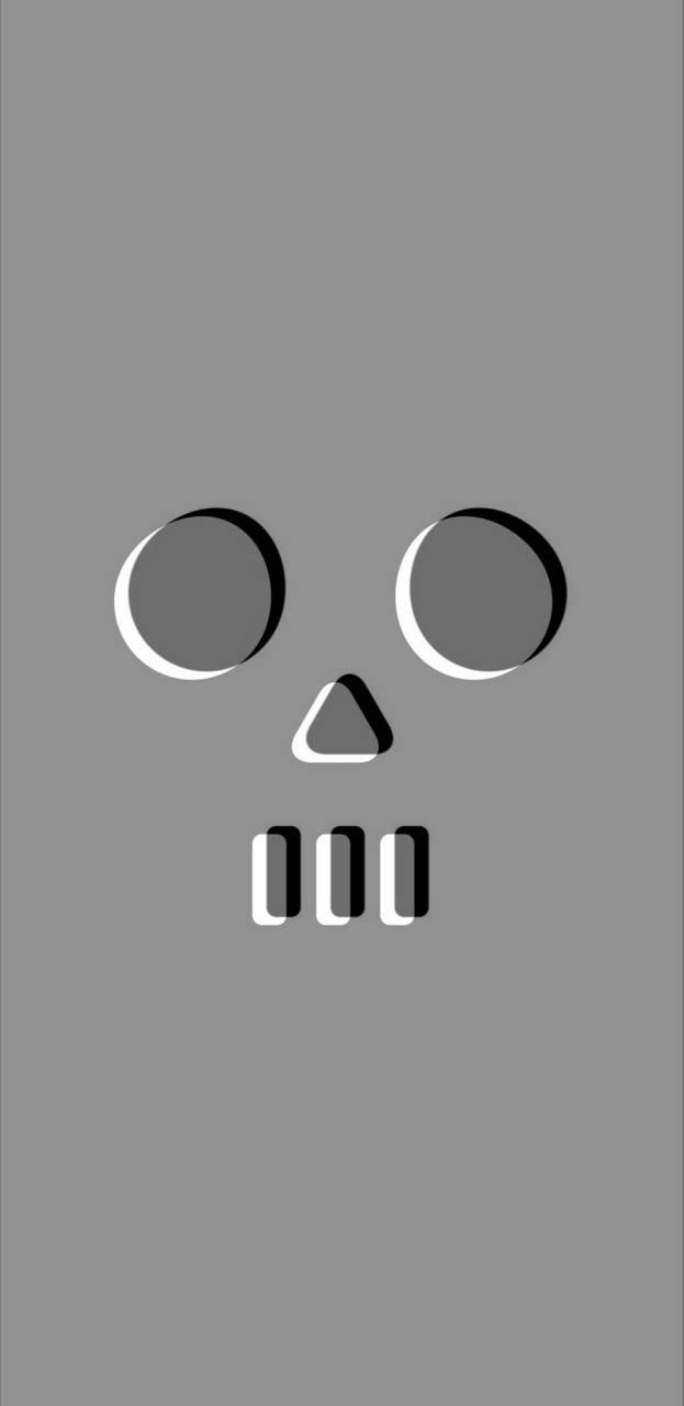 Simple Skull face