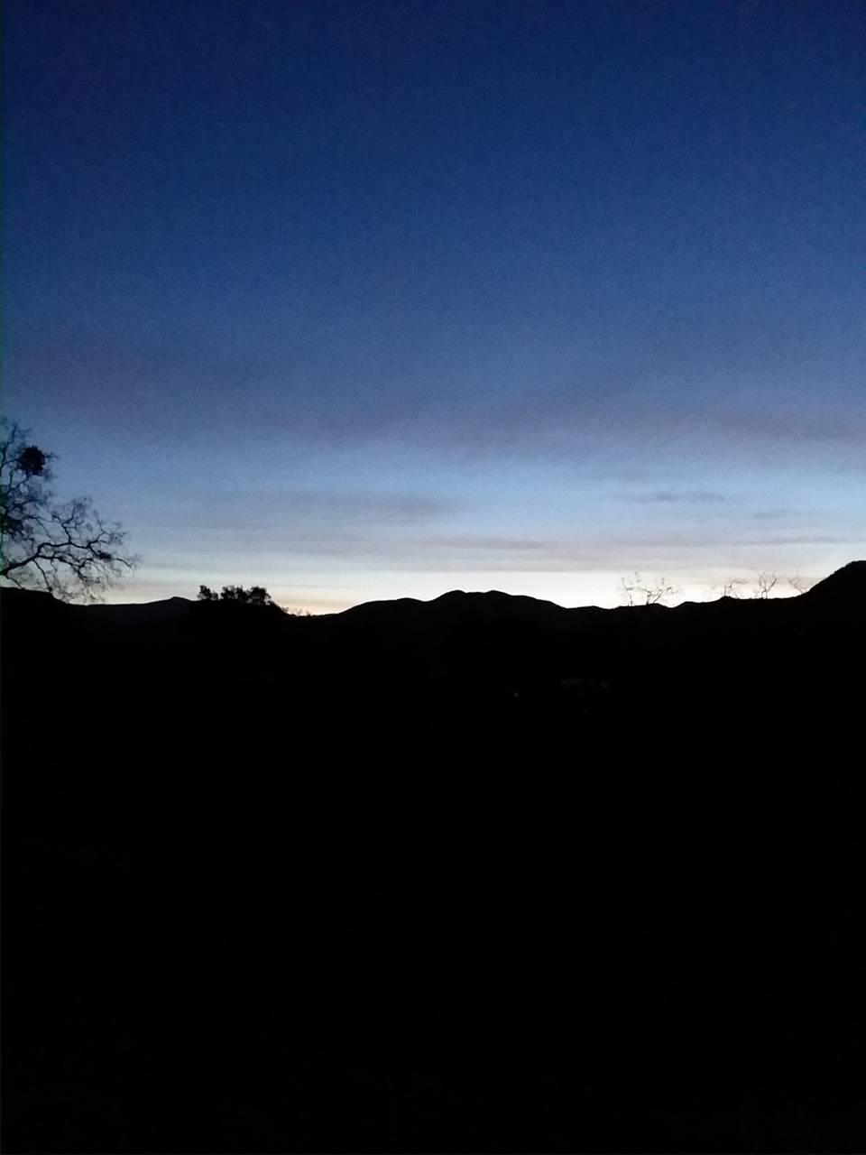 Pine flats sunrise