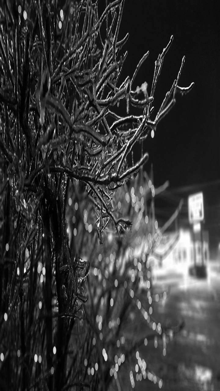 Black ice storm