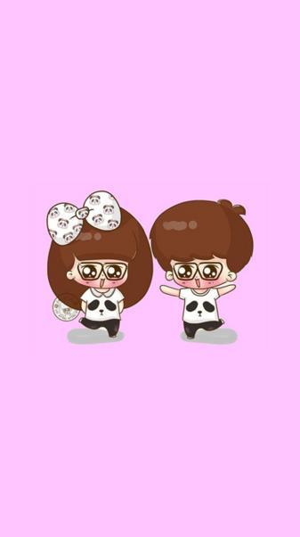 Cartoon Couple