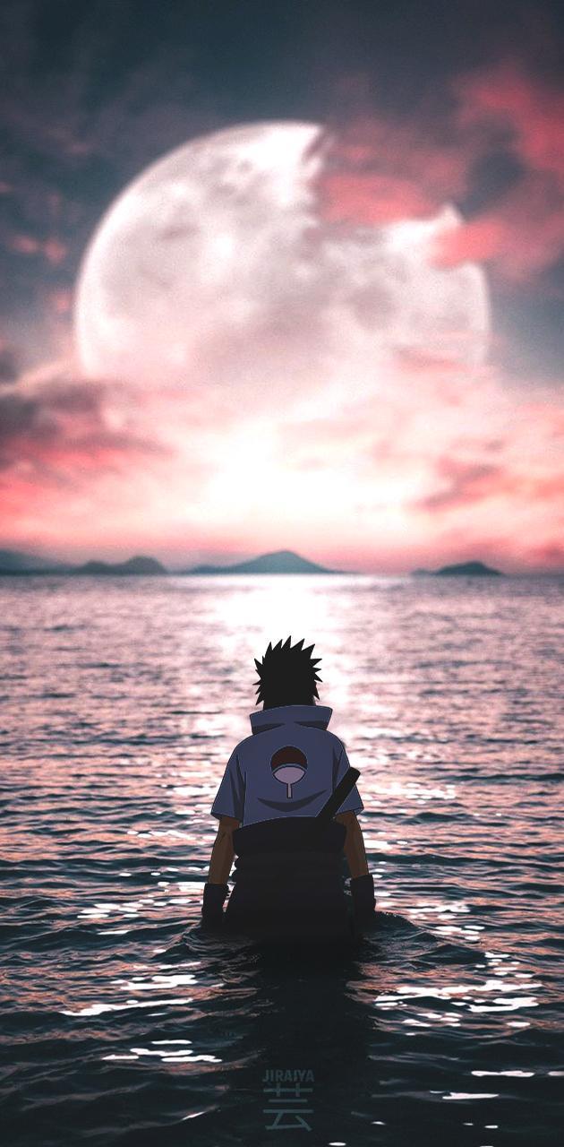 Sasuke X Moon