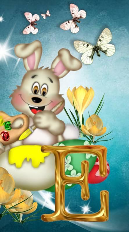Alphabet Easter