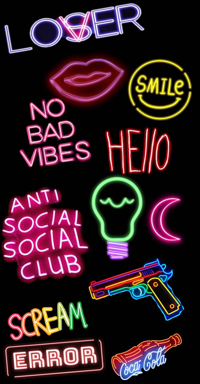 Neon Lights Wallpaper By Rodriguez98 50 Free On Zedge